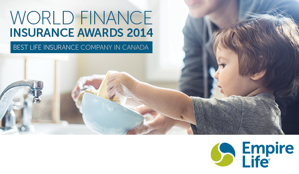 Empire Life was just recognized as the Best Life Insurance Company in Canada for 2014 in the World Finance annual awards.