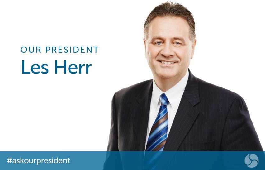 Our President - Les Herr