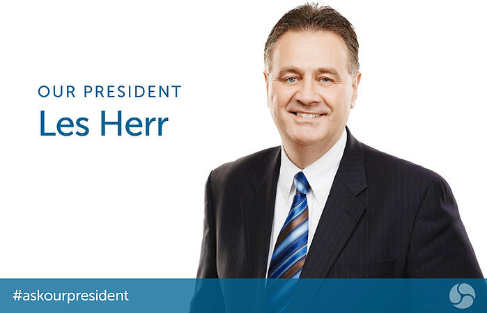 Our President - Les Herr