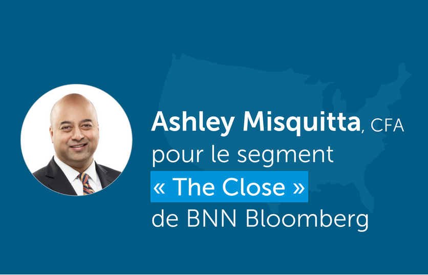 Ashley Misquitta, a récemment été interviewé pour le segment « The Close » de BNN Bloomberg.