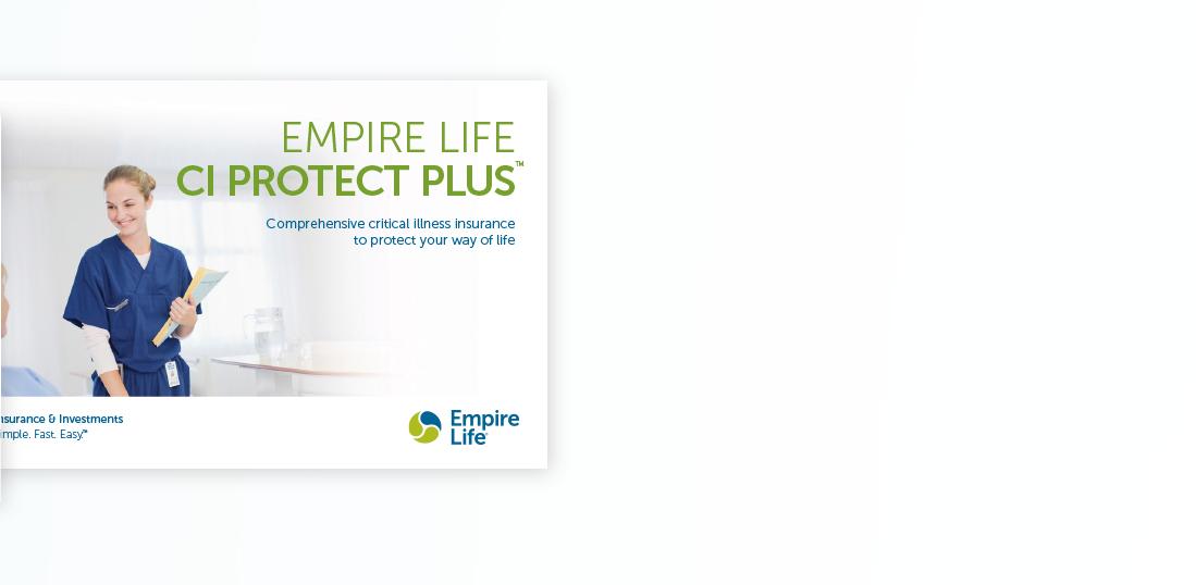 Empire Life CI Protect Plus Consumer Brochure