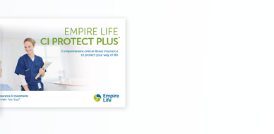 Empire Life CI Protect Plus Consumer Brochure