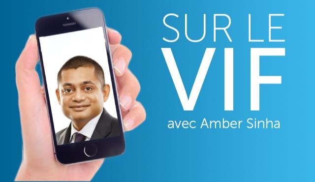 Sur le vif avec Amber Sinha