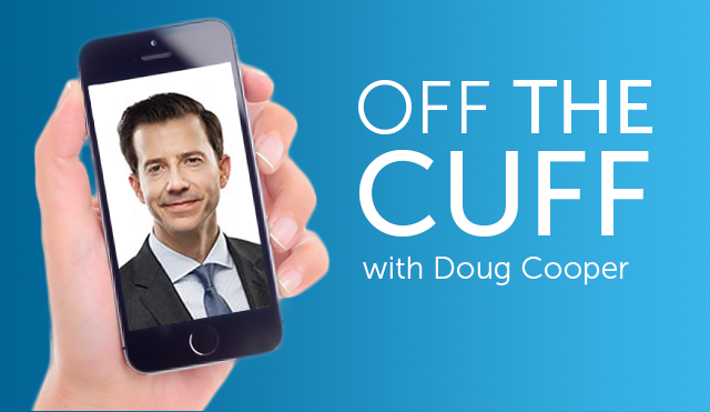 Off the cuff with Doug Cooper
