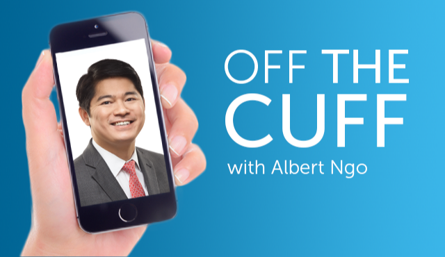 Off the Cuff with Albert Ngo