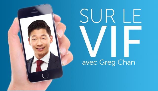 Sur le vif avec Greg Chan