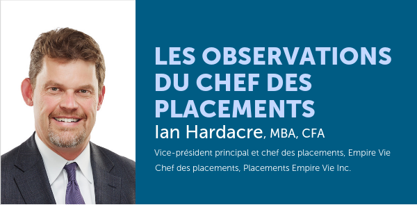 Les observations du chef des placements