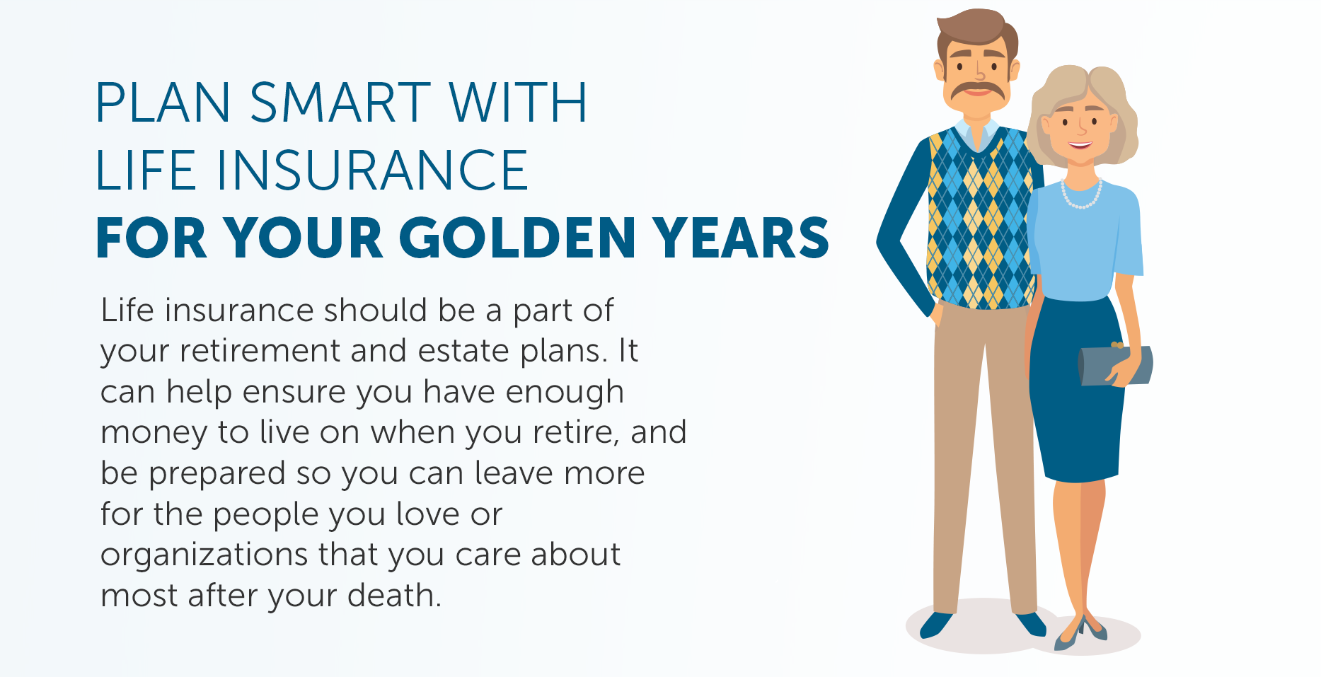 Plan smart with life insurance for your golden years header image