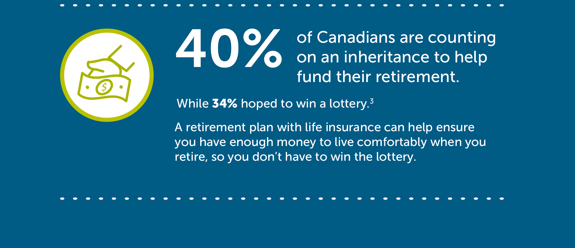 Canadian retirement statistic