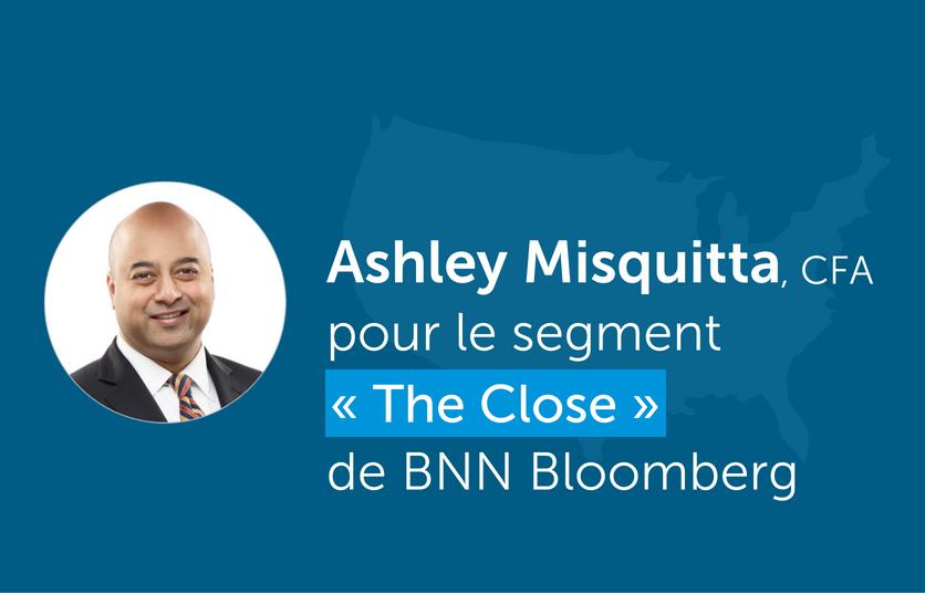 Ashley Misquitta discute du marché américain pendant le segment « The Close » de BNN Bloomberg